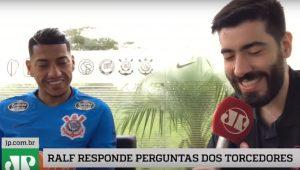 Exclusivo: Vai se aposentar no Corinthians? RALF responde perguntas dos torcedores