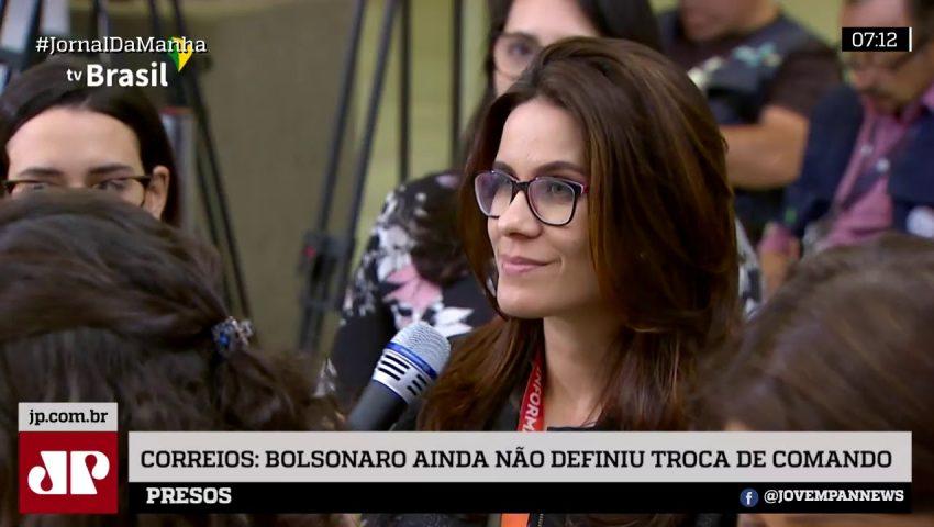 """Bolsonaro ainda não decidiu """"momento"""" para demitir presidente dos Correios, diz porta-voz"""