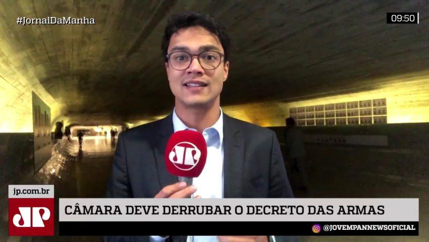 Maia aposta em derrubada do decretos de armas de Bolsonaro na Câmara