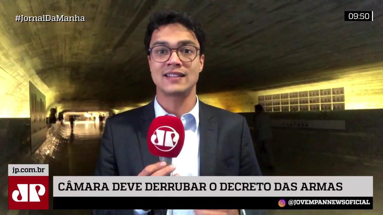 Maia aposta em derrubada do decretos de armas de Bolsonaro na Câmara | JP nos Bastidores