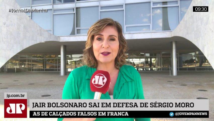 Bolsonaro sai em defesa de Moro e diz que ex-juiz nunca forjou provas contra Lula