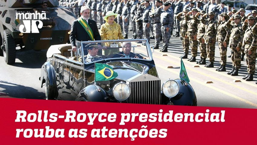 Sessentão, Rolls-Royce presidencial rouba as atenções no Palácio do Planalto
