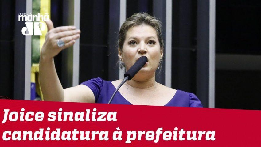 'Sou soldado de Bolsonaro', diz Joice sobre possível disputa pela prefeitura de São Paulo