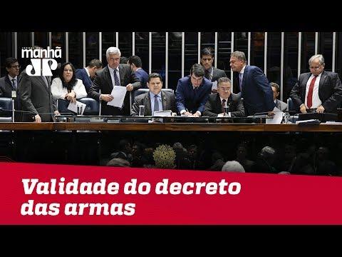 Câmara deve votar validade do decreto das armas nesta semana