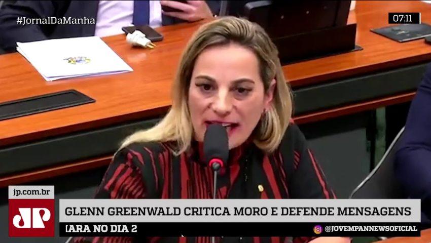 Na Câmara, Greenwald diz que Moro usa 'tática cínica' para enganar população