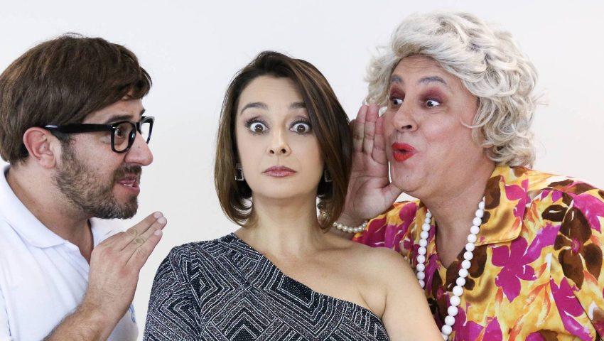 Cátia Fonseca estreia stand up 'proibidão' com piadas sobre Ronnie Von e Sonia Abrão