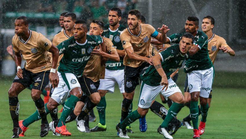 Esperava mais do clássico entre Palmeiras x Santos. E o gol quer Borja perdeu até a Dona Leila faria…