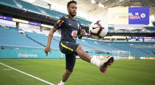 A volta de Neymar foi comum. Faltou ritmo e fôlego