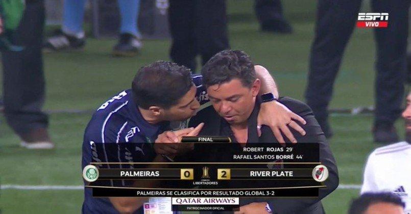 O susto foi grande, mas deu Brasil, deu Palmeiras.