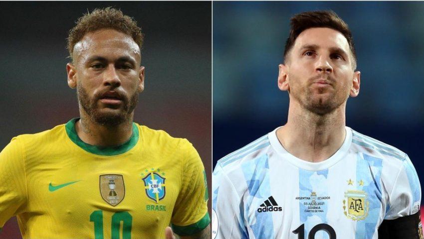 Chegaram os favoritos para decidir a Copa América. E que Brasil e Argentina nos encham os olhos