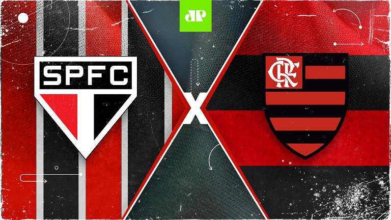 Foi um baile. Flamengo deitou e rolou contra o São Paulo
