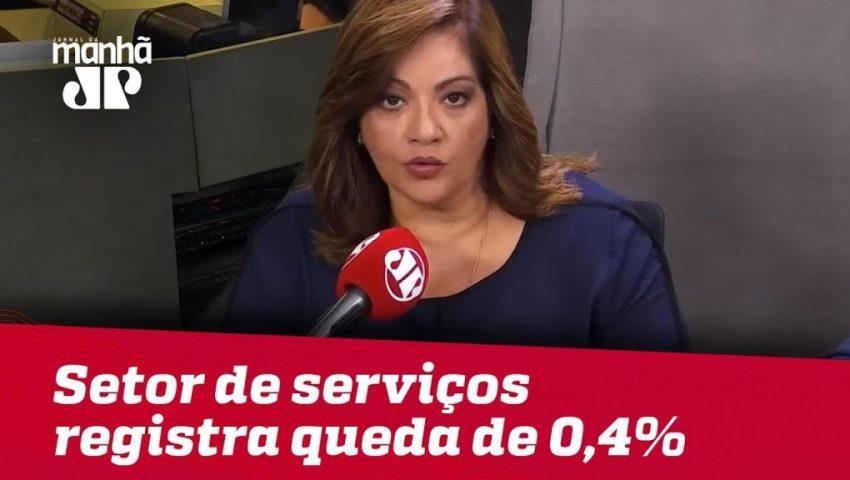 Setor de serviços registra queda de 0,4% em fevereiro | #DeniseCamposdeToledo