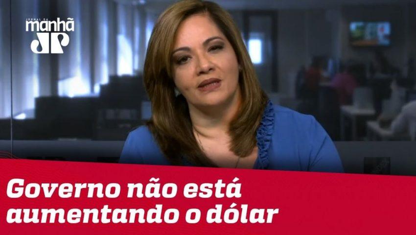 Denise: Governo não está aumentando artificialmente o preço do dólar