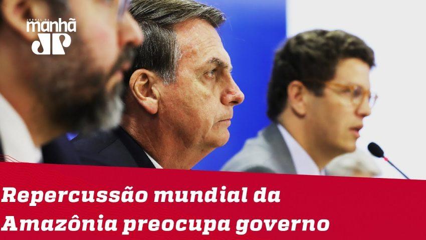 Repercussão internacional da Amazônia é discutida em Brasília