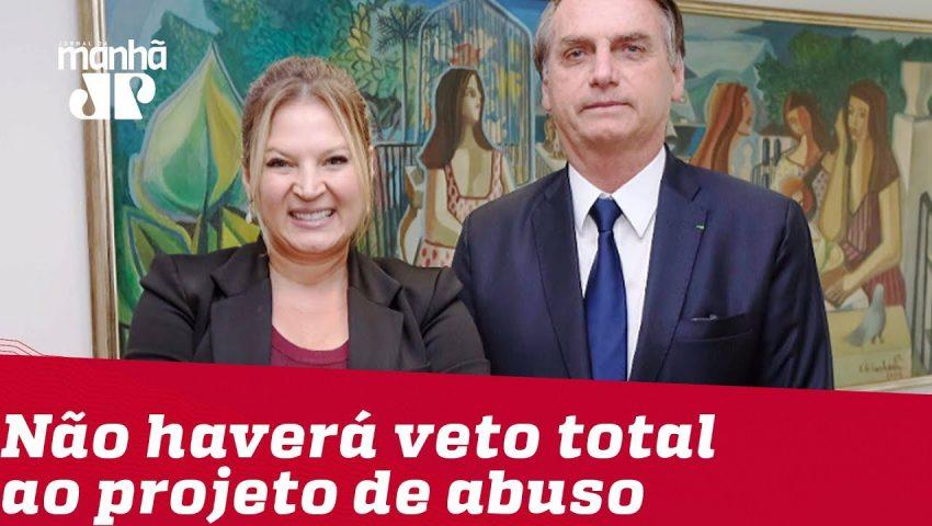 Não haverá veto total ao projeto de abuso de autoridade