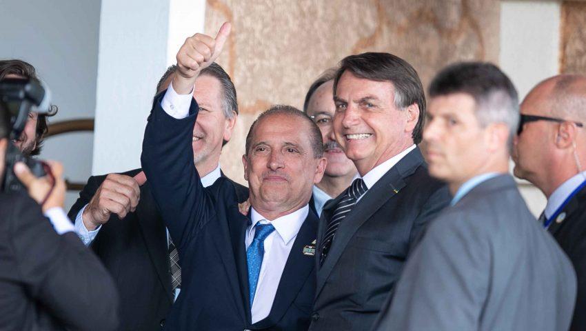Onyx diz que 'time Bolsonaro é unido e forte': 'Não importa o número da camiseta'