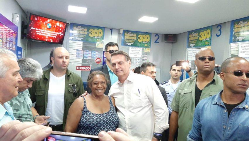 Bolsonaro aposta na Mega da Virada