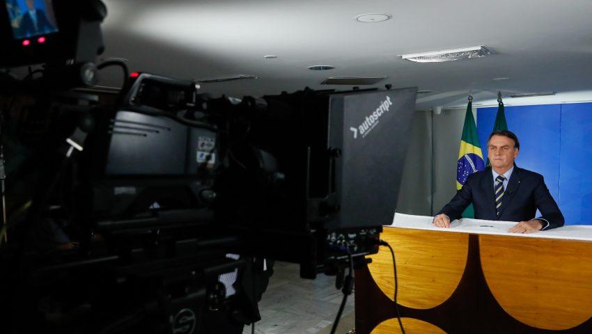 Bolsonaro fará novo pronunciamento em cadeia de rádio e tv nesta quarta-feira