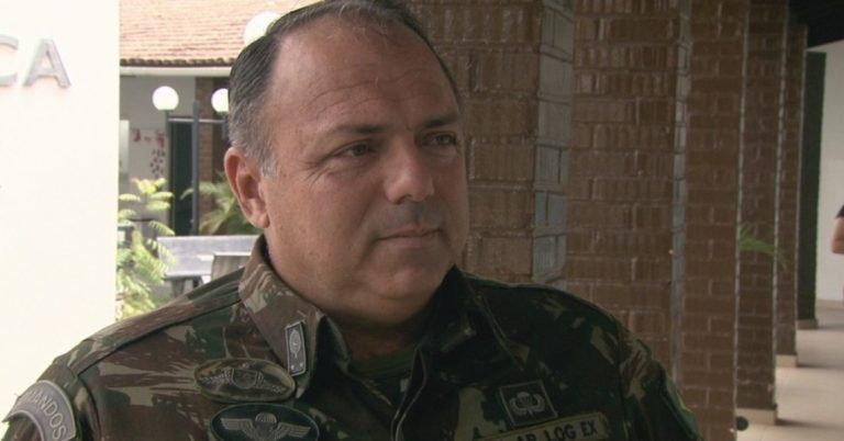 Teich confirma general Eduardo Pazuello no Ministério da Saúde