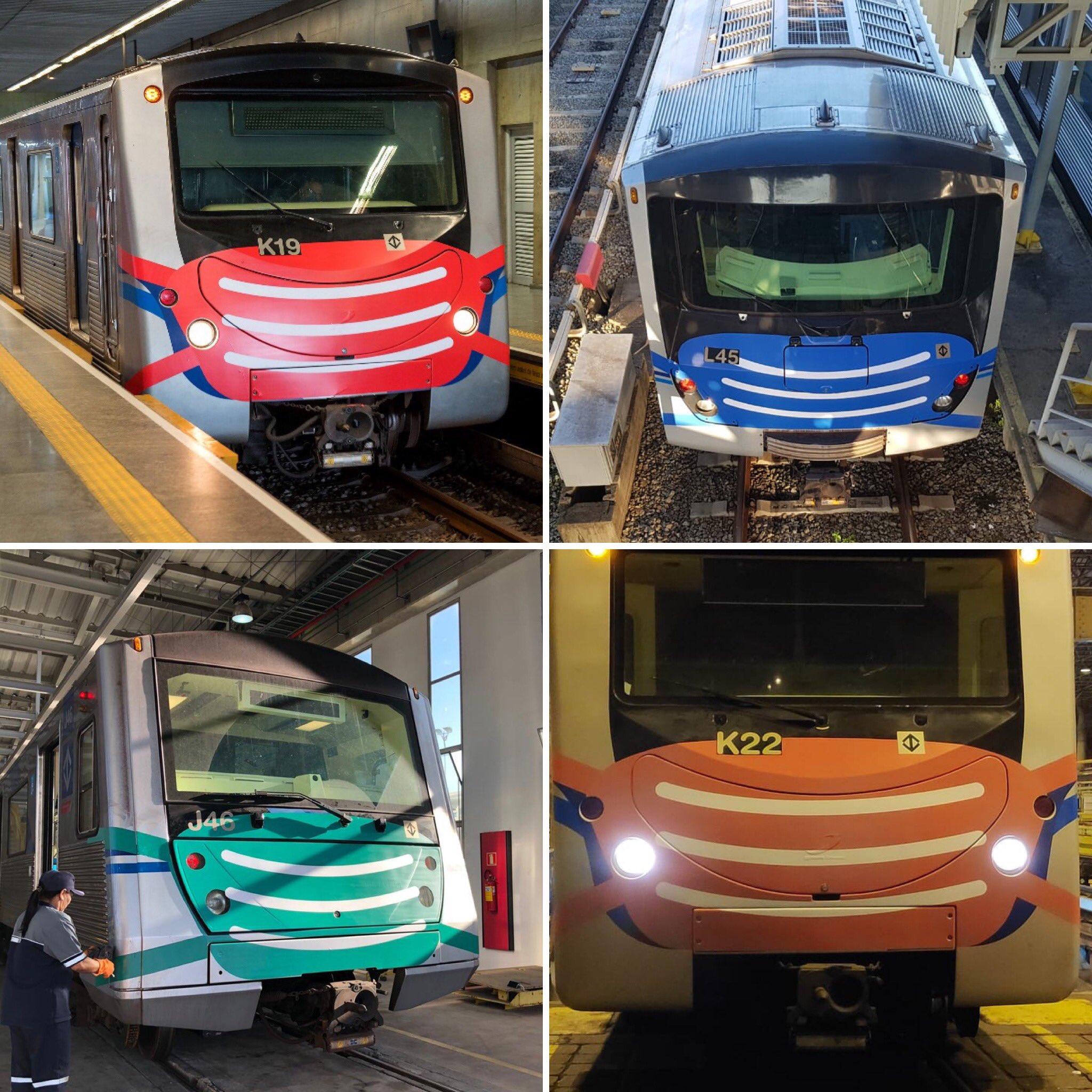 Covid-19: Trens do metrô de São Paulo 'ganham' máscaras | Direto da Redação
