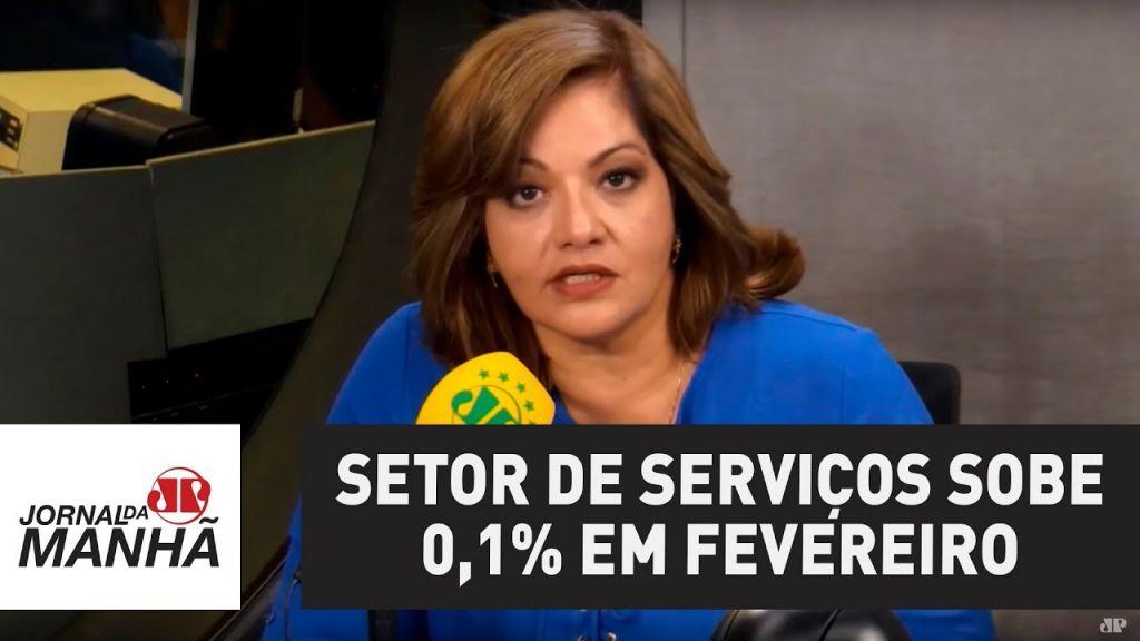 Setor de serviços sobe 0,1% em fevereiro e acumula queda em 2018   Denise Campos de Toledo