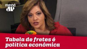 Tabela de fretes é matéria de política econômica | Denise Campos de Toledo