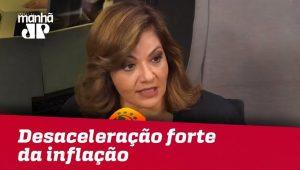 Mercado continua trabalhando com desaceleração forte da inflação | Denise Campos de Toledo