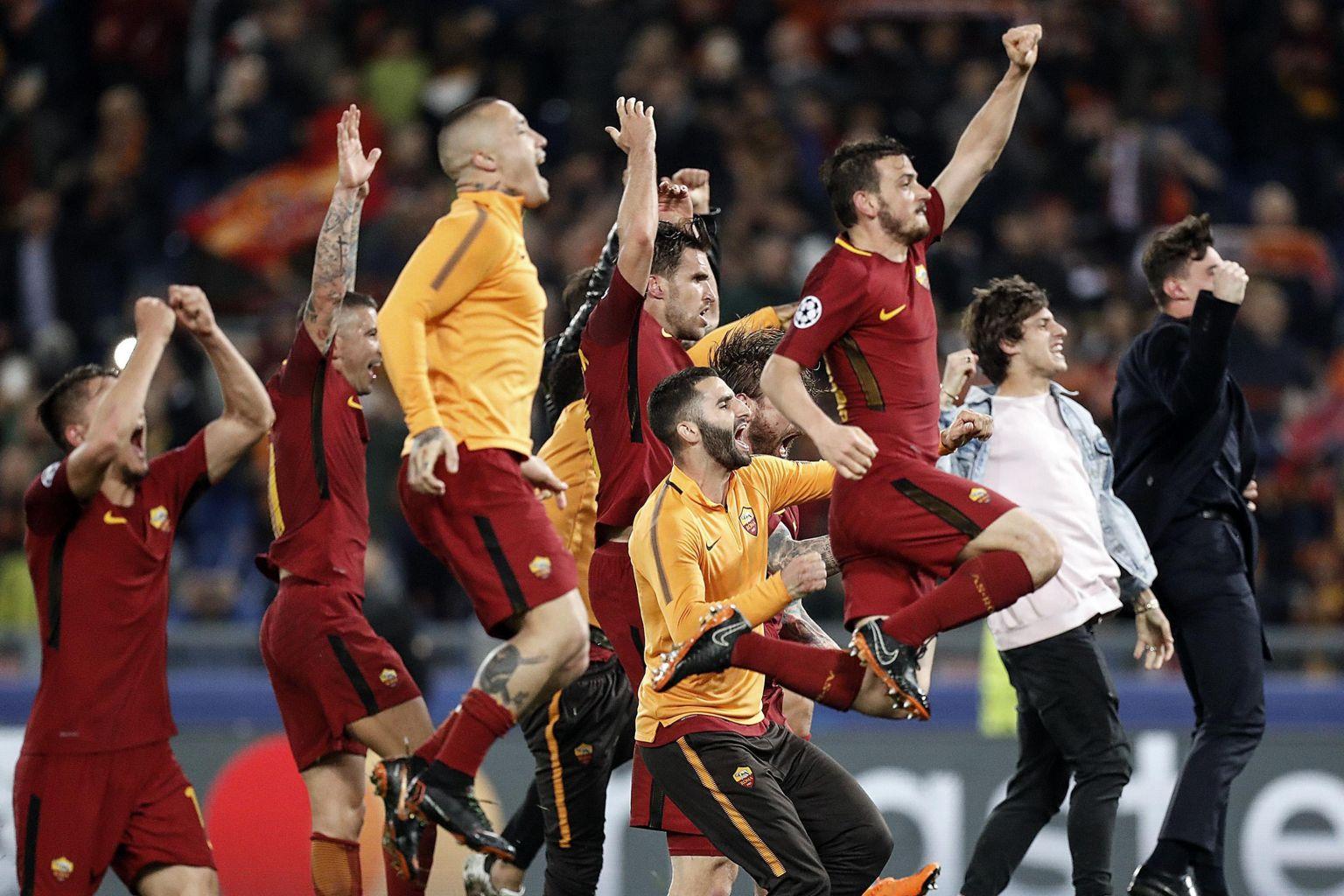 O futebol é maravilhoso, mas a Roma jogou muita bola
