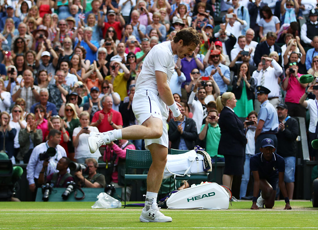 Andy Murray Sensacional