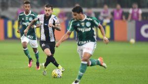 Santos empata com líder Palmeiras