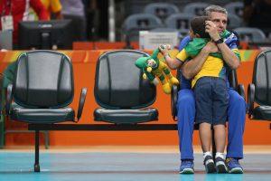 RIO DE JANEIRO 14-8-2016 Brasil perde para a China pelas semifinais do volei feminino de quadra. CELIO MESSIAS