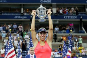 September 10, 2016 - 2016 US Open Women's Singles Champion Angelique Kerber during the 2016 US Open at the USTA Billie Jean King National Tennis Center in Flushing, NY.