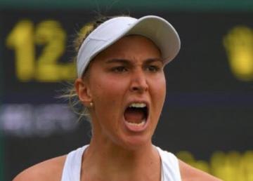 Bia Haddad mandando bem em Wimbledon