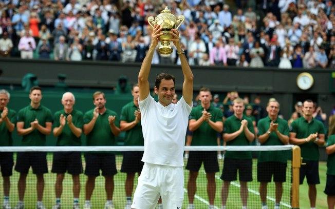 Super Federer brilha em Wimbledon