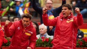 Espanha x Alemanha deram show da Davis