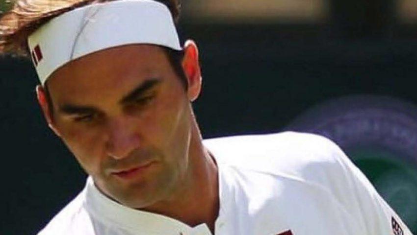 Federer estreia com vitória tranquila em Wimbledon