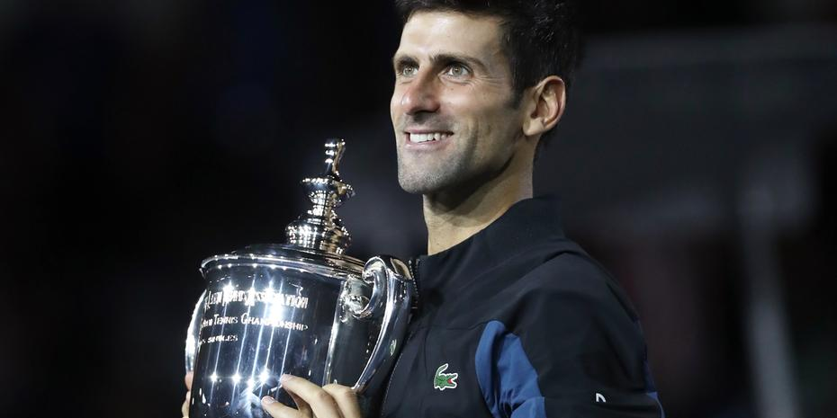 Djokovic leva terceiro US Open e iguala Sampras em títulos de Grand Slam
