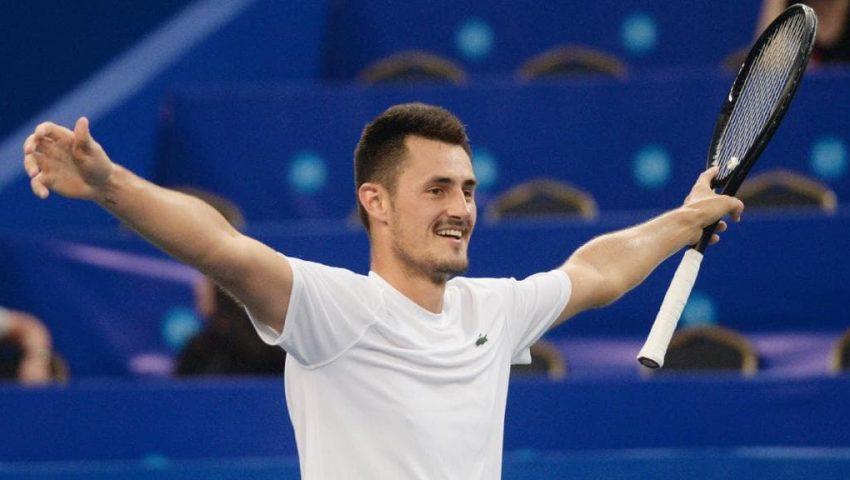 Tomic vence Fognini e leva título na China