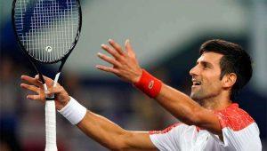 Djokovic começa bem em Xangai