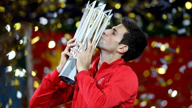 """Chinês"" Djokovic leva o tetra em Xangai"