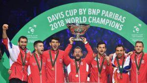 Croácia conquista segundo título da Davis