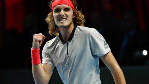 Tsitsipas é o primeiro semifinalista do ATP Next Gen