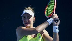 Bia estreia com vitória no Australian Open