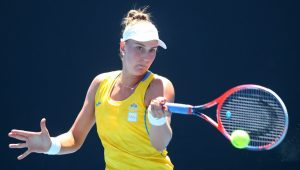 Bia vence a segunda no quali do Australian Open