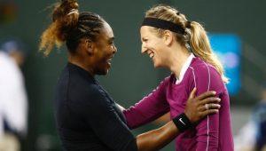 Serena e Azarenka dão show no Dia das Mulheres