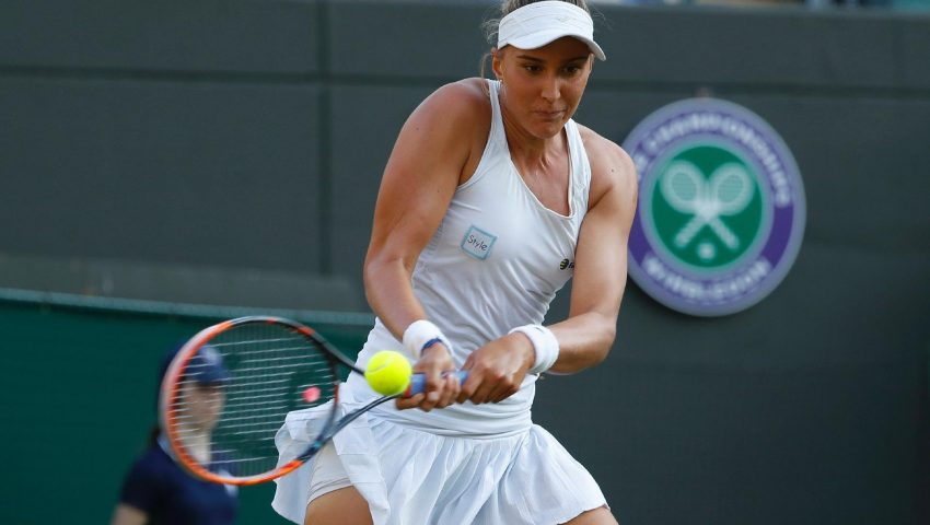 Bia estreia em Wimbledon após título de duplas em Ilkley