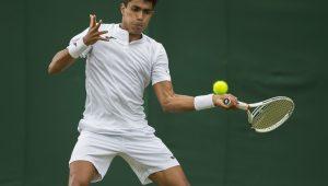 Rogerinho e Monteiro estreiam com vitória em Wimbledon