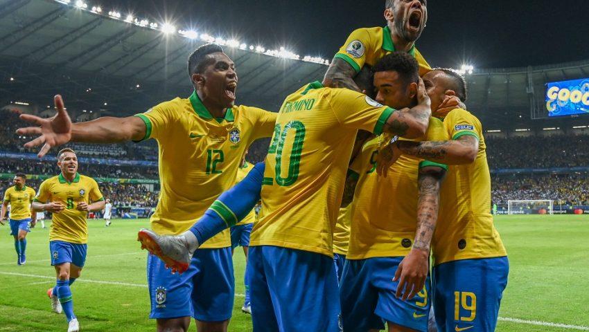 Brasil sem Neymar é show