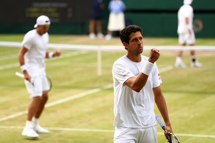 Melo e Kubot nas oitavas em Wimbledon