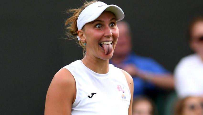 Bia vence ex-número 1 do mundo em Wimbledon